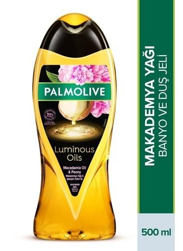 Palmolive Palmolive Luminous Oils Makademya Yağı ve şakayık Özleri Duş Jeli 500 ml Renksiz